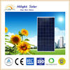 Lowest price pv module 240W polycrystalline photovoltaic solar panel for home use certificatedTUV/CE/IEC/CEC