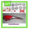Hot selling infrared massage hammer / magic stick massage with 10 massage heads for replacement