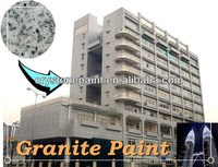 China supplier water based interior and exterior wall marble granite paint decorative building coating