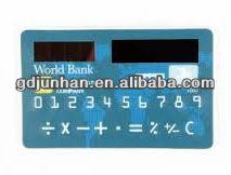 ultra-thin solar calculator gift card calculator
