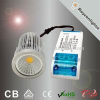 spot bulb ceiling indoor saa ce certificate with external driver cob led spot light