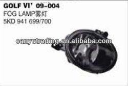 VW PARTS GOLF GOLF 6 09- FRONT FOG LAMP