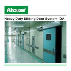 Ahouse sliding glass door closer- OA brushless Motor&Infrared Sensor /sliding glass door closers/sliding glass door closer