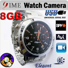Hot selling DV Watch Camera 8GB Wrist Watch DVR Mini Camera Waterproof Watch Camera,recorder