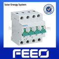 Tuv qualité PV système DC 4 p 1000 v disjoncteur