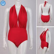 Wholesale Swimsuit Of Red Xxl Six Open Hot Sexy Girl Photo For Swimwear Women
