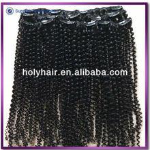 Human unprocessed virgin brazilian hair extension
