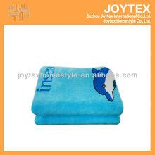 Super-soft cartoon printed coral fleece blanket / children blanket