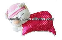 cute plush pig pillow