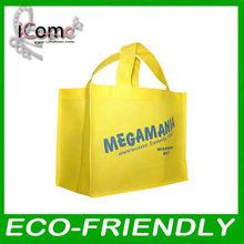 non woven bag,shopping bags,yellow shopping bag