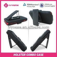 rubberzied black combo clip holster for motorola master touch XT621 ferrari