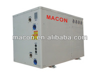 water to water pool heater heat pump cold recovery for france