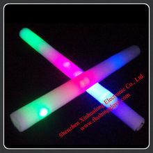 19 Inch Custom LED Flashing Stick/LED Light up Foam Wand for Party