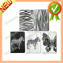 for iPad Mini Smart Cover w/ PU Leather Zebra Pattern