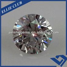 AAA diamond cut round 5 carat white jewelry sapphire