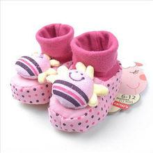 animal design newborn baby soft-soled shoes
