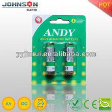 LR6 aaa aa battery adapter 1.5v aa alkaline battery