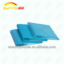 Plastic self adhesive sheets photo album