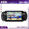"""4.3"""" pantalla tft pmp mp5 reproductor digital soporte de 32 bits juegos bin, 2mp de la cámara"""