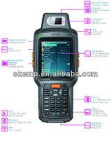 Biometric Handheld Computer with GPRS,WIFI,Bluetooth,Barcode Scanner,RFID Reader,GPS,Camera,Fingerprinter Optional(X6)