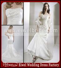 Af008 Best Selling Sheath with A Train Wedding Dress High Quality