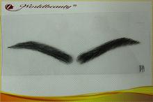 New fashion!!! 100% Human hair men eyebrow