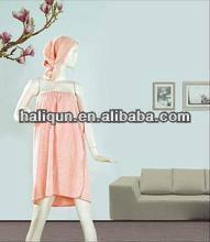 100% cotton sexy women colorful spa wrap