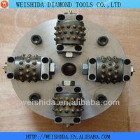 2013 Hot bush hammer tools! Diamond rotary bush hammer rotary tool grinding stone
