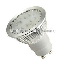 new product on market gu10 led spotlight gu10 50w halogen spot light bulb with 4 pcs Philips led