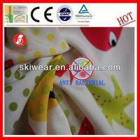 anti bacterial italian cotton shirt fabric for apparel