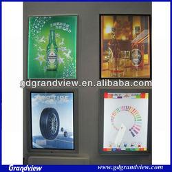 advertising hanging aluminum light frame