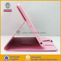 made in China leather rotate cover case for iPad mini,for ipad mini folio case