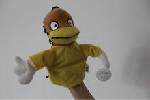 Special OEM plush stuffed hand puppet animals