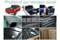 car 4x4 accessories soft tonneau cover for Nissan Navara D40 double cap