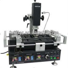 Hot sale HT-R392 3 temperature zones hot air IR bga rework station for laptop motherboard