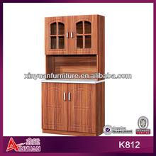Korea hot sale kitchen cabinet with granite top