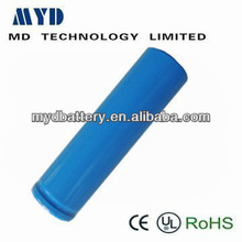 LED flash light/torch lithium-ion battery ICR18650-1200mAh 3.7V