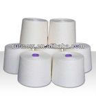 RAW WHITE Ring Spun polyester yarn CIF Oakland
