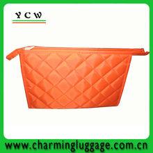fashion pu cosmetic bag with mirror