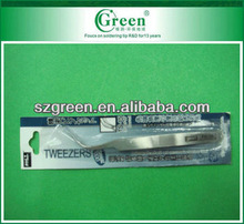 Goot TS-15 long type Stainless Precision Tweezers Curved