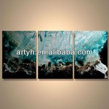 Popular modern decorative handmade abstract photograph canvas art