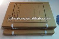 a4 kraft paper document file case