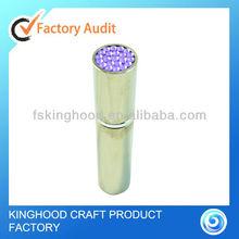 P20010I small size pocket 5ml brass perfume atomizer