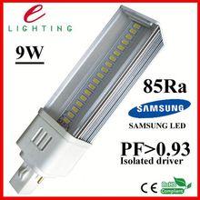 First cooling design g24 pl 9w lamp/light