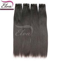 Yaki Indian virgin Cut very long hair extensions