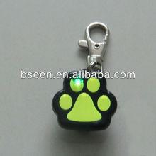 2013 high quality paw shape dog pendant