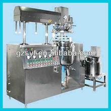 Vacuum homogenizer emulsifying/emulsion machine for food,beverage,cosmetic,commodity