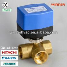 FCU thermostat motorized valve blue actuator 24V