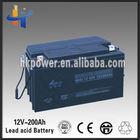 Best price 12v 200ah korean car battery