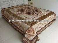latest poly patchwork bedding set